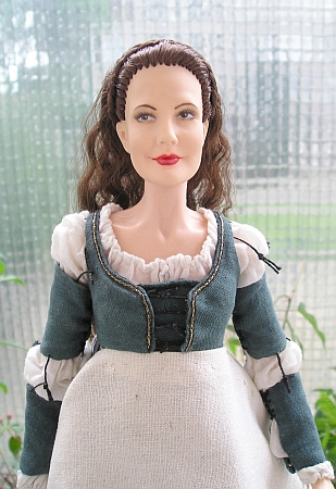 DANIELLE DE BARBARAC from Ever After - work dress, OOAK doll