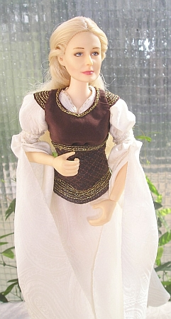 Éowyn - Shieldmaiden outfit  - LOTR OOAK dress for Barbie doll