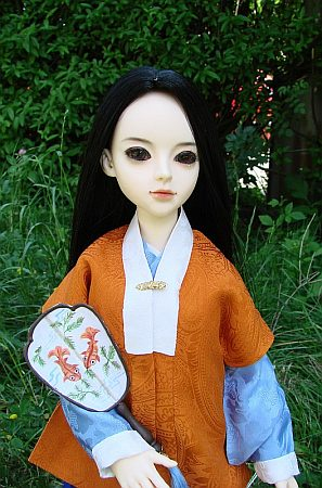 Hanfu - chinese traditional costume from Ming dynasty for BJD doll