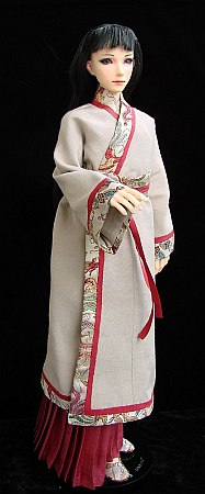 Damir in Chinese traditional outfit - hanfu for MSD BJD doll