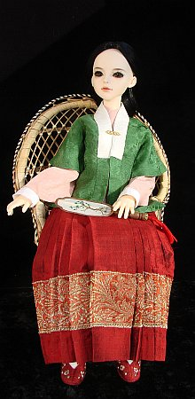 Hanfu - chinese traditional outfit from Ming dynasty for BJD doll