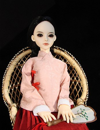 Hanfu - chinese traditional dress from Ming dynasty for BJD doll