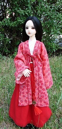 Hanfu  - chinese traditional costume for MSD