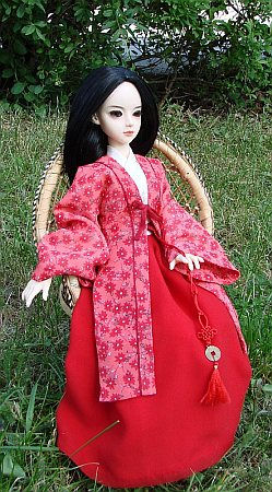 hanfu - Chinese traditional dress for BJD doll