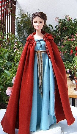 Guinevere  OOAK doll - King Arthur movie costume