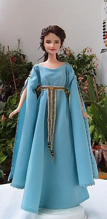 Guinevere OOAK customized Barbie doll