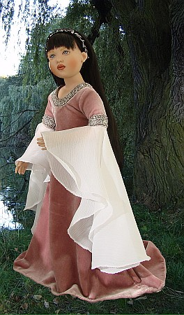 Jennifer doll by Helen Kish as baby Arwen