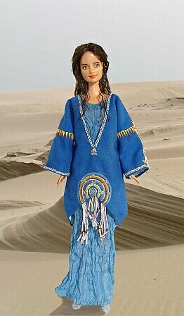 padme tatooine costume ooak doll
