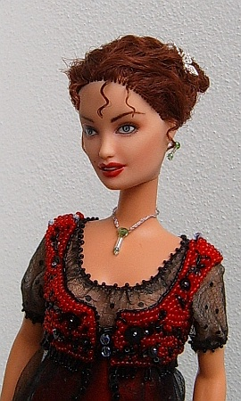 OOAK Rose Titanic doll - jump dress for Barbie