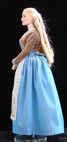 Katrina van Tassel from Sleepy Hollow movie - OOAK costume for doll