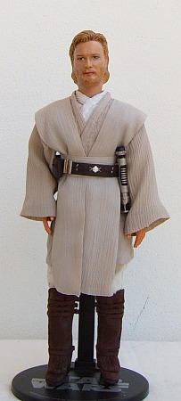 "Obi-Wan Kenobi - ooak 12"" customized doll/figure"