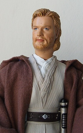 "Obi-wan Kenobi - OOAK 12"" customized  doll / figure"