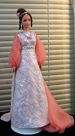 Three wishes for Cinderella -  OOAK Popelka doll in her ballgown