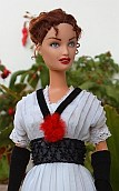 Rose DeWitt-Bukater from Titanic - OOAK Barbie doll in elevator dress
